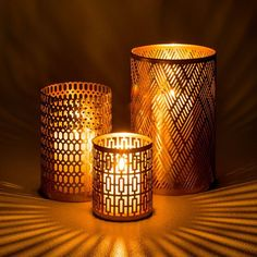Try These Easy Decorating Tips When Working with Candles Home Living, Living Room Decor, Candle In The Wind, Perforated Metal, Metal Candle Holders, Candle Lanterns, Candle Lamp, Home And Deco, Art Deco Design