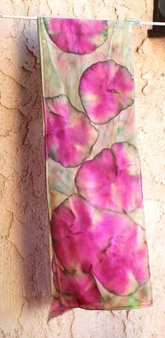 Crafternoon: Handmade Sharpie Marker Scarves