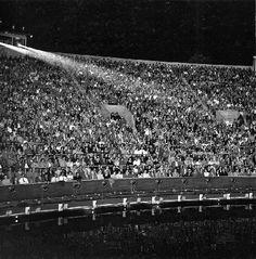 Aqua Theatre audience, 1955