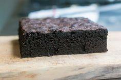 Ovenly's Salty, Deep-Dark Chocolate Brownies recipe (via davidlebovitz.com). Sub for Lucia's brownies?