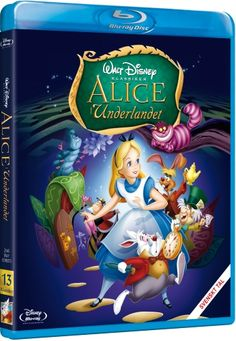 Disney klassiker 13: Alice i underlandet  (Blu-ray) (Blu-ray)
