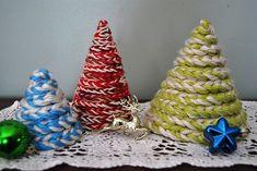 háčkovaný stromeček, vánoční háčkování stromeček, vánéční dekorace, háčkování návod, jak uháčkovat