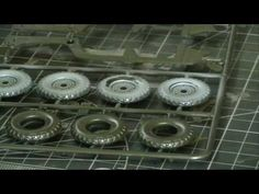 scale model tips and tech - painting tyres and road wheels - HD