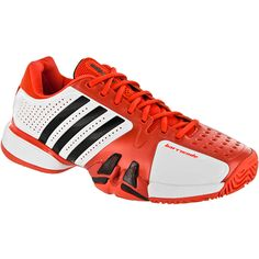 (Limited Supply) Click Image Above: Adidas Barricade 7: Adidas Men's Tennis Shoes White/high Energy/black