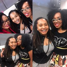 Selfie fun with two of my favorite ladies. Thank you @deecmarshall for all you do to empower our beautiful brown girls. #Y2GYou Are Amazing on Purpose