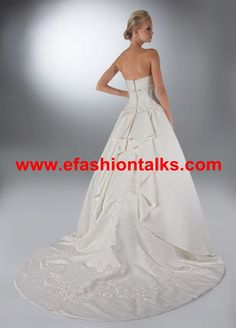 Style 50105 » Wedding Gowns » DaVinci Bridal » Available Colours : Ivory, White (back)