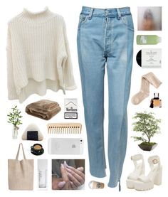the first step to any murder is to have fun and be yourself. by annamari-a on Polyvore featuring Vetements, H&M, Monserat De Lucca, Lalique, NARS Cosmetics, Davines, Zara Home, Ethan Allen, The Body Shop and Transparente
