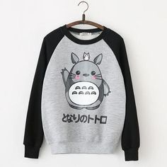 Gray totoro t-shirt pullover · Asian Cute {Kawaii Clothing} · Online Store Powered by Storenvy