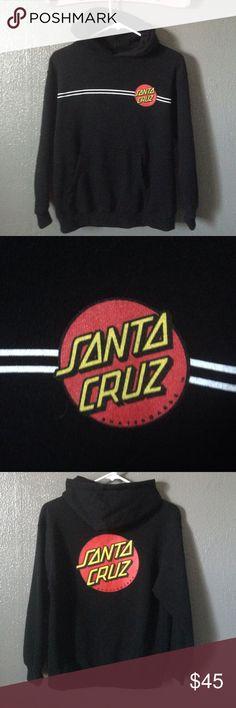 Santa Cruz Skateboards youth pullover sweatshirt Worn once. Purchased in Santa Cruz! Santa Cruz Skateboards Shirts & Tops Sweatshirts & Hoodies
