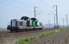 LA PASSION DU TRAIN: Hazebrouck :Un Jeudi bien occupé et plein de couleurs !!