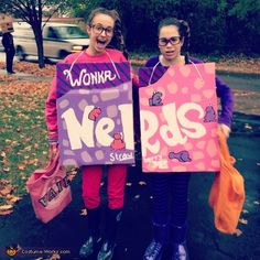 Nerds Candy Boxes - Halloween Costume Contest via @costumeworks