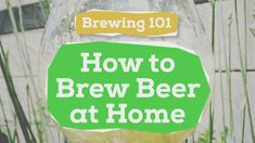 #HOMEBREWING 101: How to Brew Beer at Home [The Beginner's Guide] Have you ever wanted to know how to brew your own beer at home? This video is your beginner's guide to brewing beer. Follow along and learn the basic process of making beer at home and the equipment needed to get started today. Nothing tastes better than home-made beer. Start home brewing today! TheBruSho: Home Brewing Simplified! Chapters: 0:00 Intro 0:18 Brewing Basics 1:53 Sample Brew Day 5:35 Fermentation 8:08 Bottling…