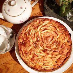 Instagram media by bovangaal - Oma's appeltaart met cakebodem! Nom nom nom #appeltaartwedstrijd @jamiemagazinenl