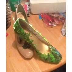 Poison Ivy Cosplay Shoes ($50) ❤ liked on Polyvore