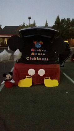Mickey Mouse Clubhouse trunk or treat