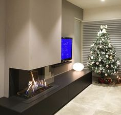 Living Room Decor Fireplace, Home Fireplace, Modern Fireplace, Fireplace Design, Narrow Living Room, Living Room Tv Unit Designs, Living Room Colors, Home And Living, House Design