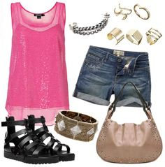 Rocky Chick Summer Outfit Idea
