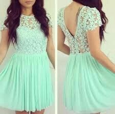 Mint Green Homecoming Dress Lace Prom Dresses Chiffon Homecoming Gowns Cute Sweet 16 Dress Evening Dresses Party Gown For Teens Sweet 16 Dresses, Pretty Dresses, Beautiful Dresses, Casual Dresses, Formal Dresses, Gorgeous Dress, Vestidos Color Verde Agua, Vestidos Color Menta, Green Homecoming Dresses