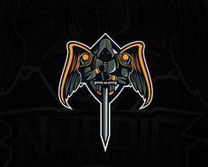 """NjediG Jedediah"" Esport Logo on Behance Team Logo Design, Mascot Design, Sport Design, Logo D'art, Video Game Logos, E Sport, Sport Girl, Sports Team Logos, Esports Logo"