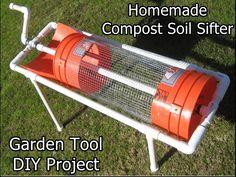 Homemade Compost Soil Sifter Garden Tool DIY Project