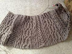 Free Pattern: John's Lap Robe by Ann V. Gallentine