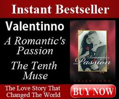 A Romantic's Passion: Poems, letters, extended verse and photos combine to reveal intricate, elaborate imagery that completely embodies the spirit of love and devotion in best-selling author Valentinno's critically and commercially acclaimed collection, A Romantic's Passion: The Tenth Muse.  Digital List Price:$7.99     Print List Price: $12.99  Kindle Price: $6.15   You Save: (53%)