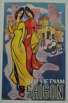 TRAVEL VIETNAM COCHINCHINE INDOCHINA UMBRELLA JUNGLE FRANCE POSTERPRINT BB8472B Kunst