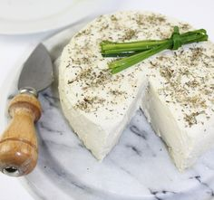 Basic Herbed Cheese (Raw and Vegan)  http://www.vegkitchen.com/recipes/basic-herbed-cheese-raw-and-vegan/#more-14485