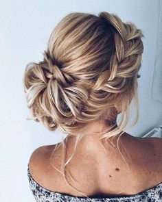 42 Chic And Easy Wedding Guest Hairstyles – 42 Chic A… - Frisuren Hochzeitsgast Easy Wedding Guest Hairstyles, Easy Updo Hairstyles, Prom Hairstyles, Straight Hairstyles, Country Hairstyles, Bun Hairstyle, School Hairstyles, Elegant Hairstyles, Updos