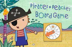 Pirates + Peaches Board Game