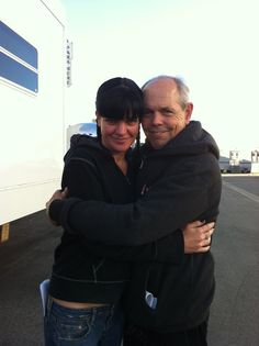 NCIS and FBI...Hug! love Fornell!!