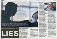 Faith Eckersall of the Bournemouth Echo interviews Private Investigator Andy Cross of Answers Investigation Secrets And Lies, Private Eye, Private Investigator, Photographs Of People, Bournemouth, Day Work, Investment Property, What Is Like, The Life