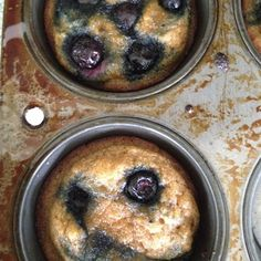 Blueberry Muffins #glutenfree #grainfree #paleo