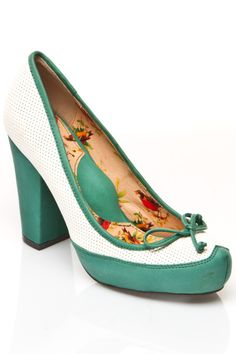 Darling Green Heels.