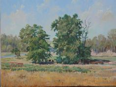 Summer Pastures oil 18x24 $1250 Ramey Campbell