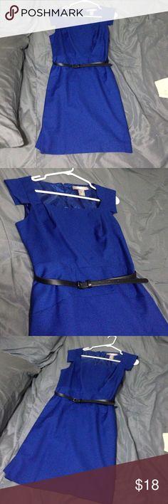Royal blue forever 21 dress Slim fitting dress. Worn once Forever 21 Dresses Midi