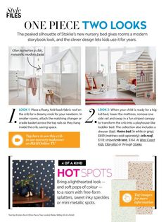 Stokke Home nursery concept featured in HOUSE & HOME  Summer 2015