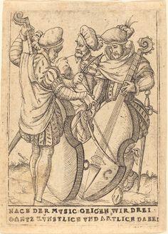 German 16th Century  Nach der Mvsic: Geigen wir drei gantz Kvnstlice vnd artliche dabei, c. 1580  Rosenwald Collection  1964.8.29  NGA open access