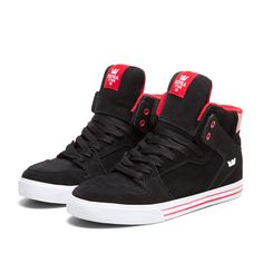 Supra Sneakers, High Top Sneakers, Fashion Shoes, Mens Fashion, Boys Wear, Stylish Men, Men's Shoes, Blue And White, My Style