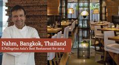 Nahm mejor restaurante de Asia 2014 según 50Best