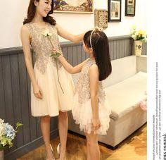 Mãe filha verão lace vestidos de mãe e filha roupas família moda olhar de casamento festa de família roupas combinando em Família Roupas Combinando de Mãe & Kids no AliExpress.com | Alibaba Group