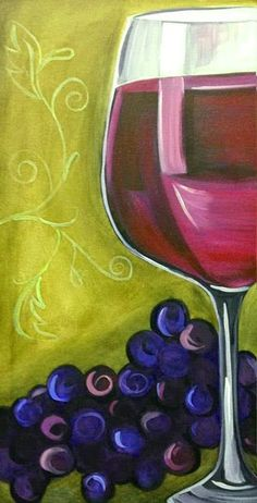 Wine Glass Art Classes by Lee Owenby at T.F. Rice & Co.