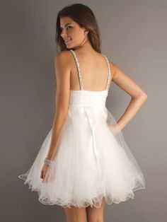 LOVE the white with the silver sparklely straps!!!