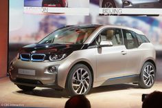 First look at the BMW i3 electric car