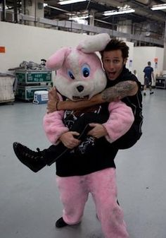 Mike and The drunk bunny:D