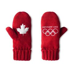 Vancouver 2010 Olympics mittens.  Been there, and bought these gloves--for $10