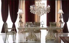 baroque decor/images | Dining room decorating ideas, Neo Baroque dining furniture in Italian ...