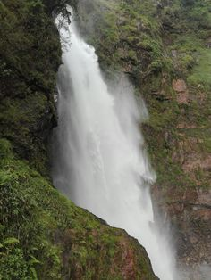 Salto Candela, Pajarito- Boyacá. Waterfall, Spaces, Outdoor, Colombia, Outdoors, Waterfalls, Outdoor Games, The Great Outdoors