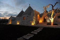 Alberobello by night (BA) Puglia - Italy