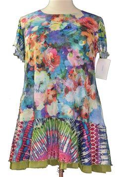 Boho Dress- Amma Paisley Hippie Top